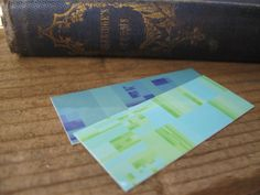 Mini Bookmarks Set of 4  Small Art Reproduction of  by ArtAtomic, $4.50