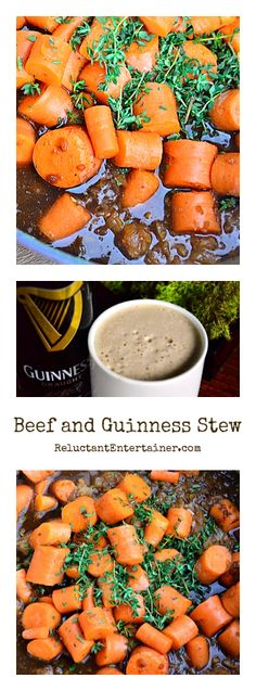 Beef with Guinness Stew at ReluctantEntertainer.com
