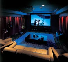 movie room - the colors