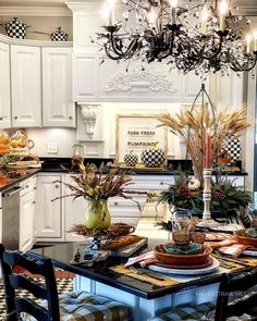 """Donna • Haverstraw Hill on Instagram: """"Autumn is a season filled with so many wonderful colors and hues🍂🍁 For Fall, do you like to decorate with a vibrant or neutral color…"""" Fall Kitchen Decor, Beyond Words, Autumn Home, Neutral Colors, Table Settings, Vibrant, Woman, Instagram, Place Settings"""