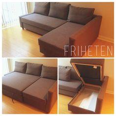 New couch ikea friheten favorite places spaces for Ecksofa friheten