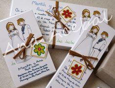 recordatorios de comunion personalizados de mellizos y gemelos