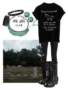 """""""You can be who you are any day of the week!"""" by biter-sweet ❤ liked on Polyvore featuring Closed, Moonchild, claire's, Comme des Garçons and Strange Days"""