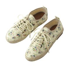 Japanese Online Shop - [IMAGE] Flower Pattern Sneakers / Spring 2013 New Item, Ladies: JSHOPPERS.com