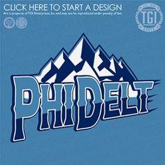 Phi Delta Theta | ΦΔΘ | Intramural | TGI Greek | Greek Apparel | Custom Apparel | Fraternity Tee Shirts | Fraternity T-shirts | Custom T-Shirts