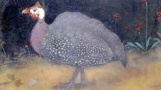 'De Parelhoen','The Guinea Fowl' - by Jan Mankes   foto: Boom regionale uitgevers - Meppeler Courant.