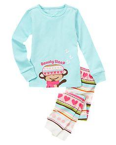 Beauty Sleep Monkey Two-Piece Gymmies®