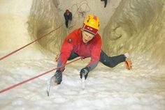 Virgin Experience Days have a large variety of gift experiences that will suit everyone. Experience the thrill and excitement of ice climbing under the supervision of climbing professionals. Climbing Wall, Ice Climbing, Arctic Explorers, Experience Gifts, Adventure, Inner Circle, January, Indoor, Fancy