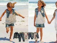 Miss Blumarine jeans uit de collectie van Lolly Pop Kindermode 2013. www.lollypop.nl #Kids