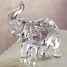 Ellie the Elephant Crystal Figurine.
