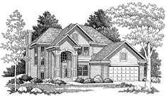 Eplans New American House Plan - Timeless Style and Efficiency - 2043 Square Feet and 4 Bedrooms from Eplans - House Plan Code HWEPL04628