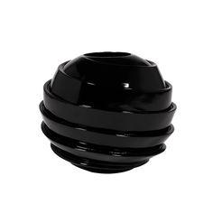 Galaxy Black Vase #vases #modernluxuryvases #luxuypieces #bowl #luxurydecor #homedecor #contemporary #exclusivedesign #interiordesign #design #decorativehome #anavasconcelos #signaturepieces #numeroliving #sculpture
