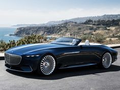 The new Mercedes-Maybach Vision 6 Cabriolet is quiet, stunningly elegant and just dripping with opulence. It reminds me more of a super yacht for the road than anything. But how long is it until Maybach say we may see this gorgeous electric land-yacht on public roads?