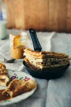 Bliny (Russian Crepe-Style Pancakes) | Red Star to Lone Star