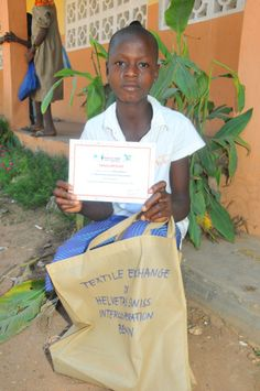 Batia Public Elementary School, Benin - Another proud winner !