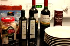 Ingredients for an excellent #ChileEVOO dinner party!  From the kitchen of @Hungry Goddess