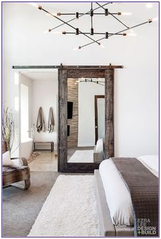 Ideas Wood Wallpaper Bedroom Rugs For 2019 Interior Modern, Scandinavian Interior, Modern Interior Design, Kitchen Interior, Minimalist Interior, Minimalist Bedroom, Modern Minimalist, Room Interior, Woman Bedroom