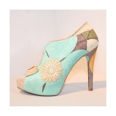 Zapatos Femeninos Súper Altos de Moda via Polyvore