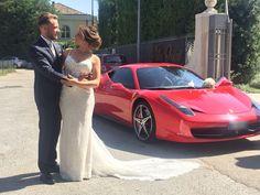 Un Matrimonio Speciale con la Nostra Ferrari 458 Italia!!!