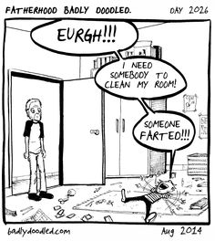 Cleaning Crew (day 2026) #comics #humour #kids #children #family #illustration #drawing