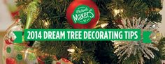 Christmas Tree Decorating Tips | 2014 via Stephanie Lynn ~ under the table & dreaming
