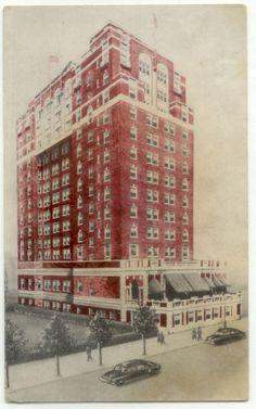Atlantic City NJ Colton Manor Hotel Pennsylvania Ave  New Jersey