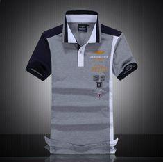 1ed27dbd36a1a Camisas Masculinas de alta Qualidade Camisas Pólo de Varejo AROONAUTICA  MILITARE ALGODÃO Polo POLO Dos Homens