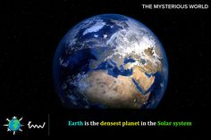 #solarsystem #earth #facts