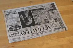 丈夫で簡単な新聞ゴミ箱(小物入れ)の作り方 – conote