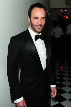 Tom Ford....hard to look at isn't he??