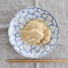 【特集 食べきりお餅レシピ】第3話: 沸かしたお湯につけるだけ!トロトロきな粉もち