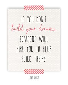 dreams build your dreams sunday encouragement sunday quote