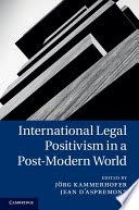 International Legal Positivism in a Post-Modern World provides fresh perspectives on one of the most important and most controversial families of theoretical approaches to the study and practice of international law. The contributors include leading experts on international legal theory who analyse and criticise positivism as a conceptual framework for international law, explore its relationships with other approaches and apply it to current problems of international law. Is legal...