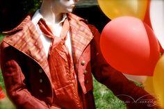 Balloons at the vintage circus.