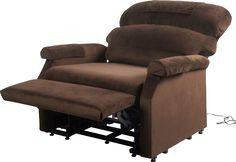 CONFORT XXXL Fauteuil releveur et relaxation 3 moteurs extra large pour personne très corpulante : Poids maximum d'utilisation = 315 kg. Large d'assise = 84 cm. Taille de la personne jusqu'à 1,95 m. Mécanisme : 2 moteurs sont accouplés pour la fonction releveur et la levé du repose jambes pour la robustesse. Coussins en mousse haute densité haute résilience pour rester moelleux et souple. Revêtement en velours Soft Touch doux. Aide à l'assise en toute sécurité sans effort ...