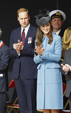 The Duchess of Cambridge Kate Middleton and Prince William did their royal duty on Friday, June 6, traveling to France in recognition of D-Day, which marks a pivotal victory of the Allied troops in World War II in 1944.