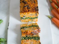 Savory Baked Carrot and Broccoli Rabe Terrine | Food & Wine goes way beyond mere eating and drinking. We're on a mission to find the most exciting places, new experiences, emerging trends and sensations.