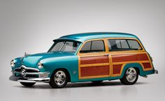 1950 Ford Custom Station Wagon The WOODN8R - Car Pictures