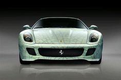 2010 Ferrari 599 GTB CHINA Cracked Porcelain Image