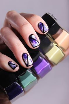 NAFW2015 Inspired By a Fashion Blogger - HiloAlhoa Sophie Nail Art 7