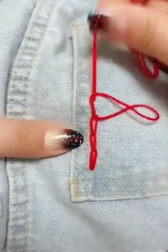 Outstanding 30 how to sew tips are readily available on our web pages. Embroidery Stitches Tutorial, Sewing Stitches, Hand Embroidery, Sewing Patterns, Crochet Crafts, Sewing Crafts, Sewing Projects, Diy Crafts Hacks, Diy Home Crafts