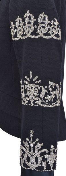 François Lesage - Maitre d'Art - Broderies Haute Couture - Chanel.
