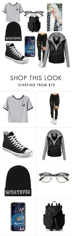 """meet dylan bully target"" by maryjsullivan ❤ liked on Polyvore featuring Chicnova Fashion, Converse and Local Heroes"