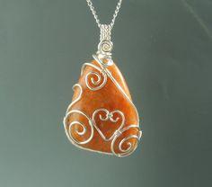 Orchid calcite necklace https://www.facebook.com/VeraNasfa.jewelry