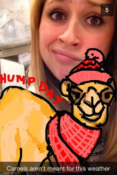 Community: This Girl's Snapchat Has The Best Guest Stars