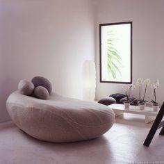 Living Stones. Comfy looking rock pillows.