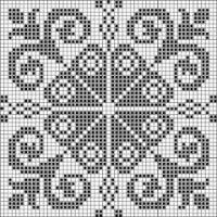 Gallery.ru / Фото #16 - БИСКОРНЮ и др. ! - Yra3raza Cross Stitch Borders, Cross Stitch Charts, Cross Stitch Designs, Cross Stitching, Cross Stitch Embroidery, Cross Stitch Patterns, Filet Crochet Charts, Crochet Cross, Crochet Motif