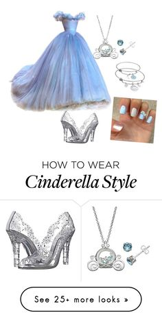 """""""Cinderella"""" by cupcake2o4 on Polyvore featuring Dolce&Gabbana and Disney"""