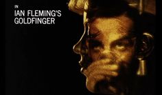 Sean Connery in Goldfinger Title Sequence