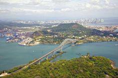 Puente de las Américas en Ciudad de Panamá, Panamá